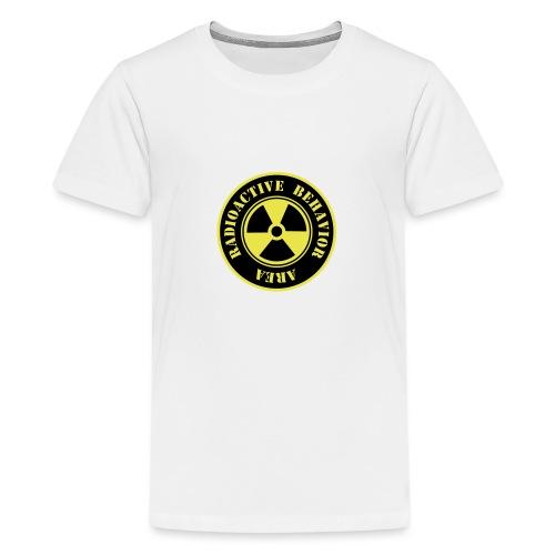 Radioactive Behavior - Camiseta premium adolescente