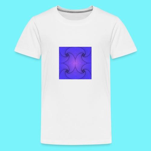 Blue Pursuit - Teenage Premium T-Shirt