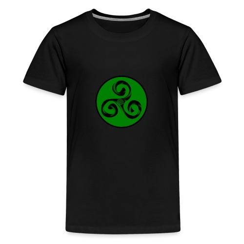 Triskel and Spiral - Camiseta premium adolescente