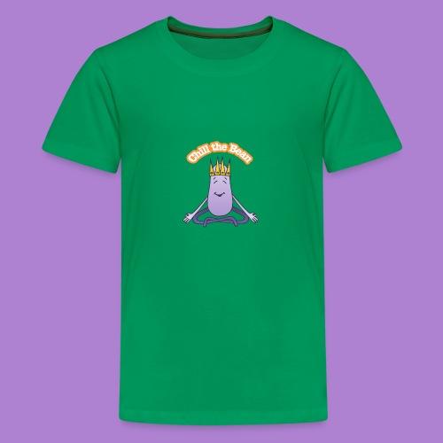 Chill the Bean - Teenage Premium T-Shirt