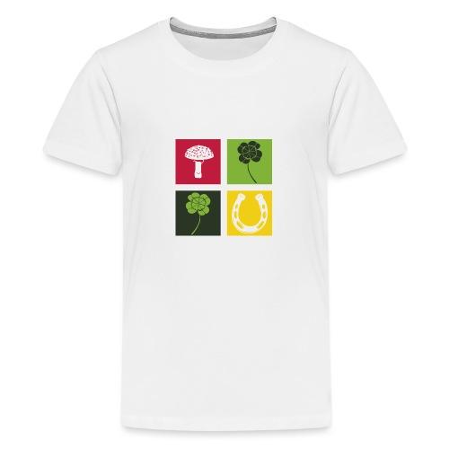 Just my luck Glück - Teenager Premium T-Shirt