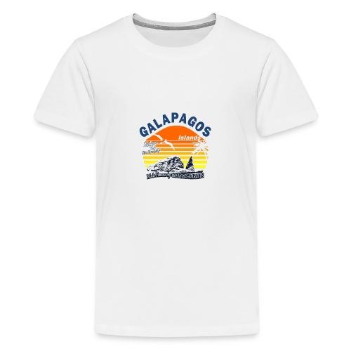Galapagos Islands - Teenage Premium T-Shirt