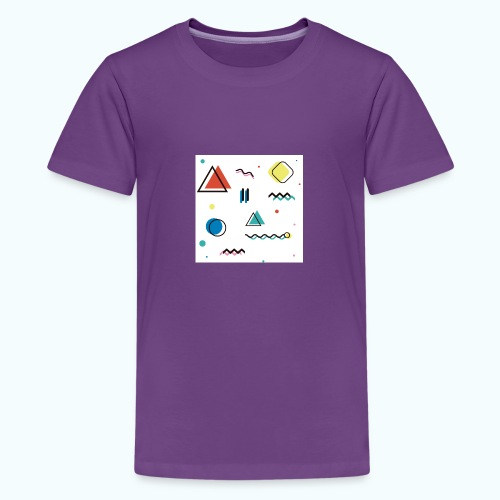 Abstract geometry - Teenage Premium T-Shirt