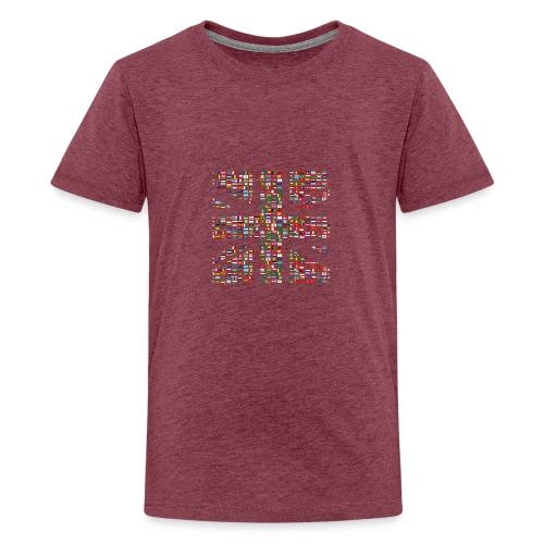 The Union Hack - Teenage Premium T-Shirt