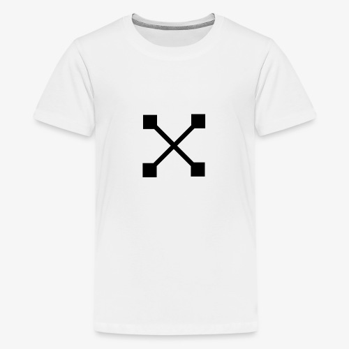 X BLK - Teenager Premium T-Shirt