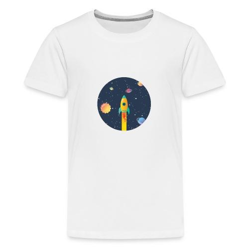 Spaceship travel - Maglietta Premium per ragazzi