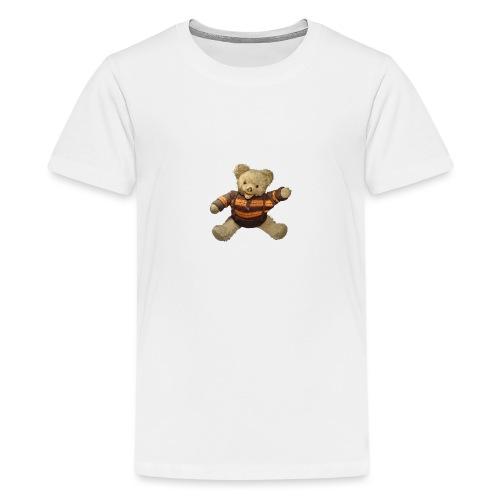 Teddybär - orange braun - Retro Vintage - Bär - Teenager Premium T-Shirt