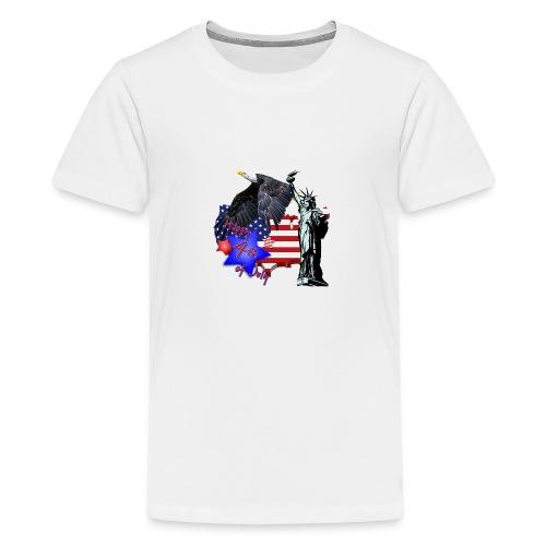 Independence Day - Teenager Premium T-Shirt