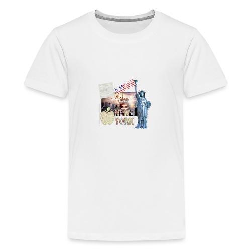 Love New York - Teenager Premium T-Shirt