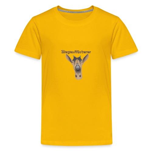 Ziegenflüsterer - Teenager Premium T-Shirt