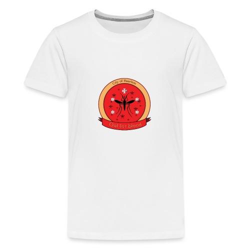 Haarlem GOT met banner - Teenager Premium T-shirt