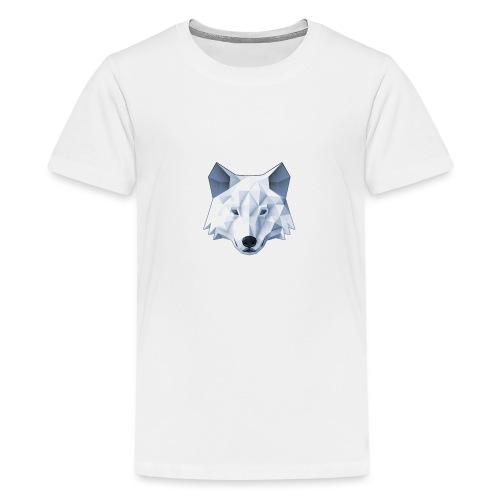 Jaulustus Wolf - Teenager Premium T-Shirt