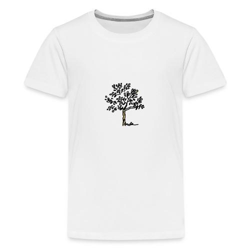 Jeune olivier - Teenager Premium T-Shirt