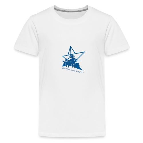 W i i Kinnings vonne Waterkant - Teenager Premium T-Shirt