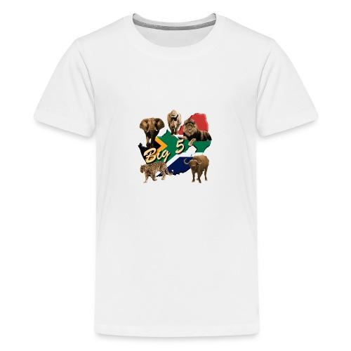Big 5 - Südafrika Safari - Teenager Premium T-Shirt