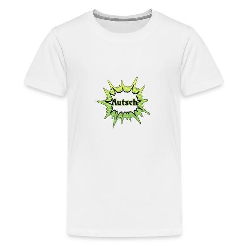 Comic Schrift Autsch - Teenager Premium T-Shirt