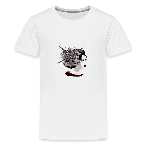 Warrior Flower - Teenager Premium T-shirt