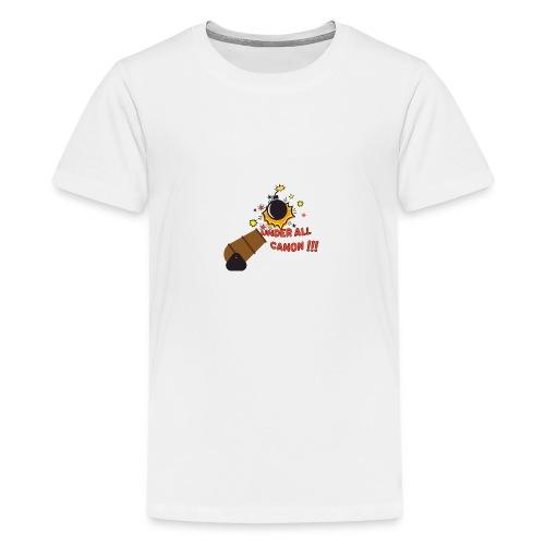 Denglisch-Shirt: under all canon, lustiges Shirt - Teenager Premium T-Shirt