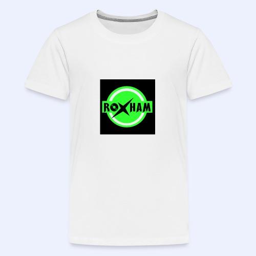 RoxHam-Button-2019 - Teenager Premium T-Shirt