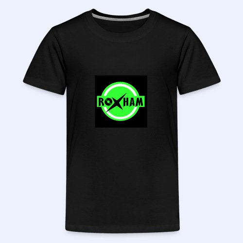 RoxHam-Button-2019 - Teenager Premium T-Shirt