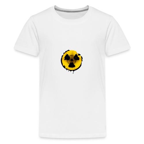 Radioaktives Tschernobyl-Schild - Teenager Premium T-Shirt
