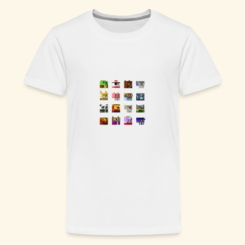 A Planet of Mine Animals - Teenage Premium T-Shirt