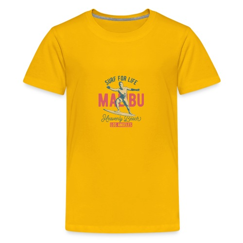 Surf for Life - Teenager Premium T-Shirt