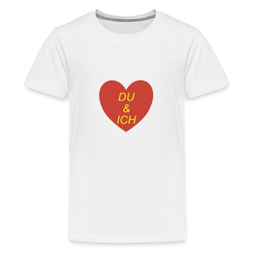Herzilein - Teenager Premium T-Shirt