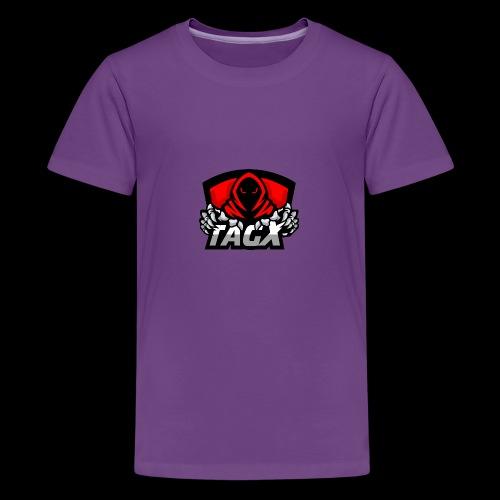 TagX Logo - Teinien premium t-paita