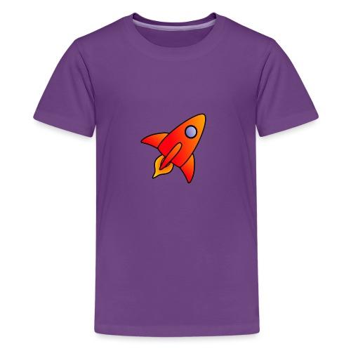 Red Rocket - Teenage Premium T-Shirt