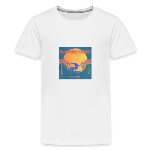Summer vibes - Camiseta premium adolescente