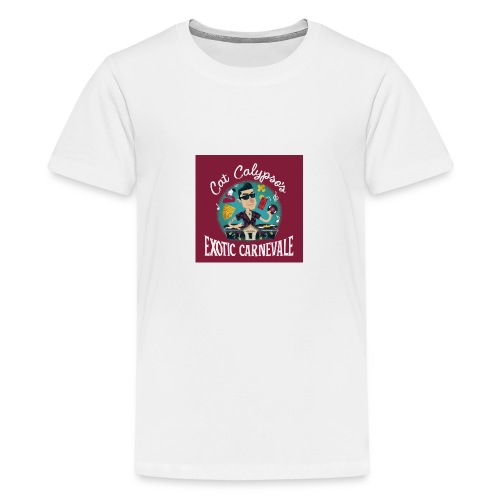 01_CAT CALYPSO 1 - Teenager Premium T-Shirt