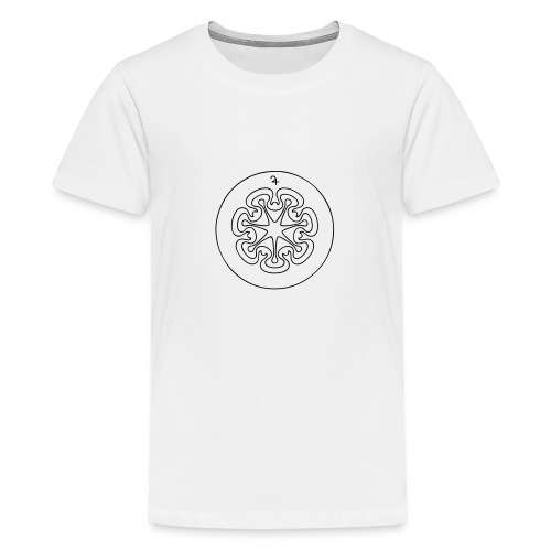 Rudis Jupiter Siegel - Teenager Premium T-Shirt
