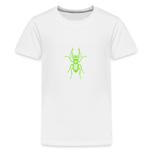 Grüner Hirschkäfer - Teenager Premium T-Shirt