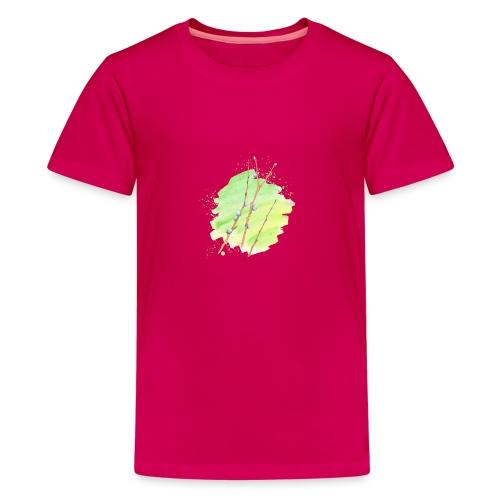 Weidenkätzchen - Teenager Premium T-Shirt