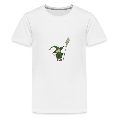 Green Witch - Teenager Premium T-Shirt