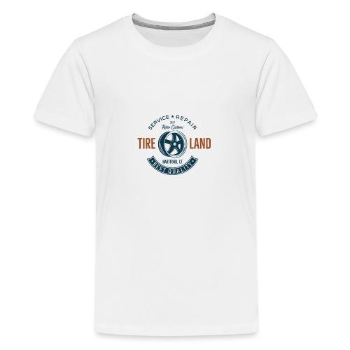 Tire Land - Teenager Premium T-Shirt