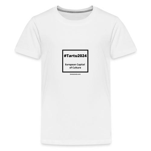 LOVE ESTONIA rainbow - Teenage Premium T-Shirt