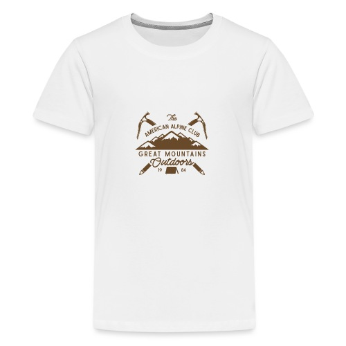 American Alpine Club - Teenager Premium T-Shirt