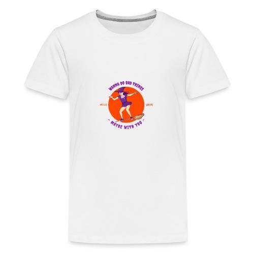 Halloween Witch - Teenager Premium T-Shirt