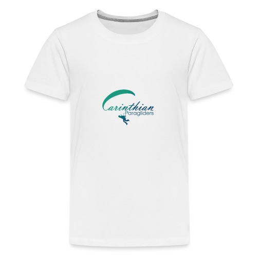 Carinthian Paragliders Logo 2019 - Teenager Premium T-Shirt