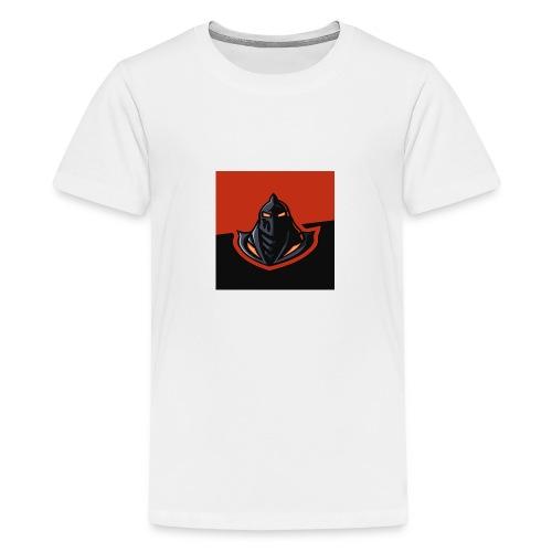 DeF Clan logo - Premium T-skjorte for tenåringer