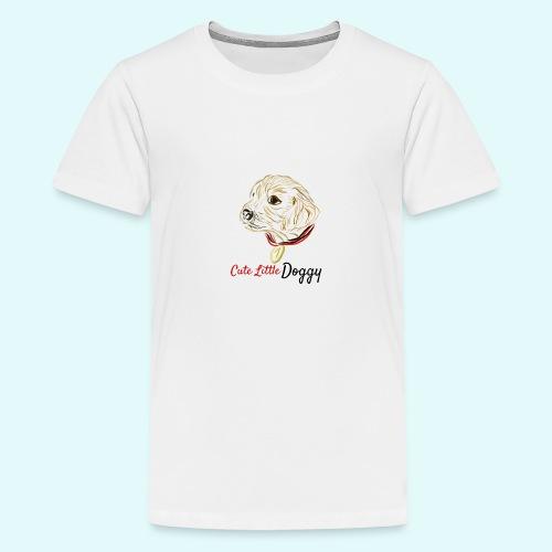 Cute Little Doggy - Teenager Premium T-Shirt
