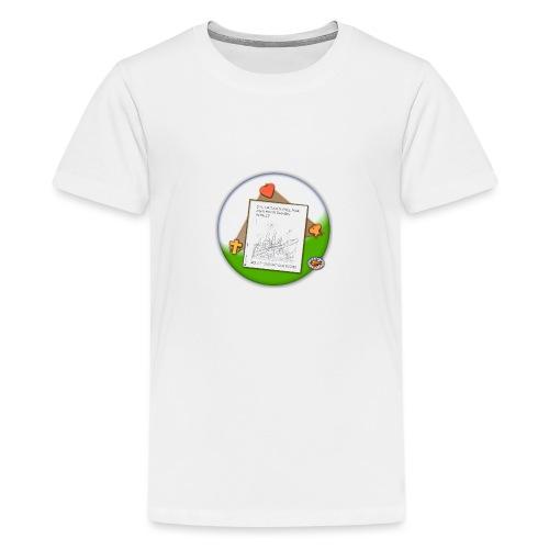 Petrus trifft Jesus - zu viele Fische ! - Teenager Premium T-Shirt