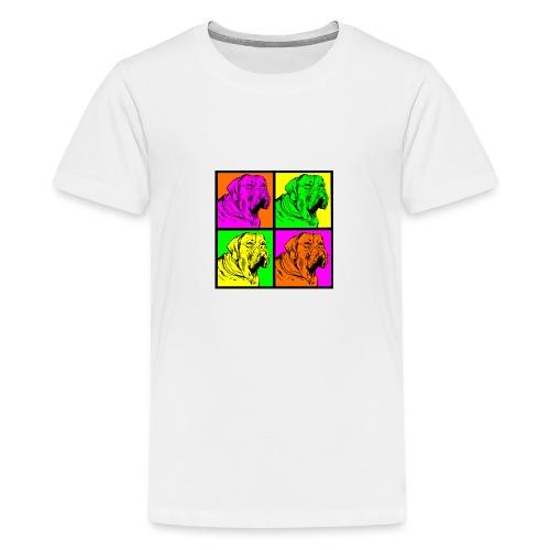 Bouledogue Anglais Couleur - T-shirt Premium Ado