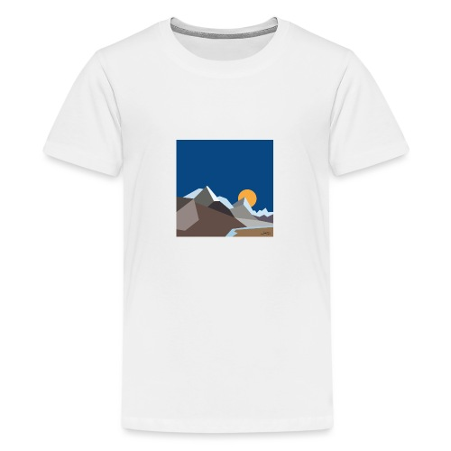 Himalayas - Teenage Premium T-Shirt
