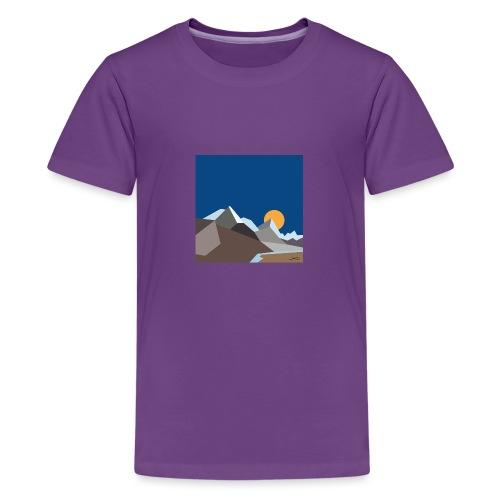 Himalayas - Teenage Premium T-Shirt