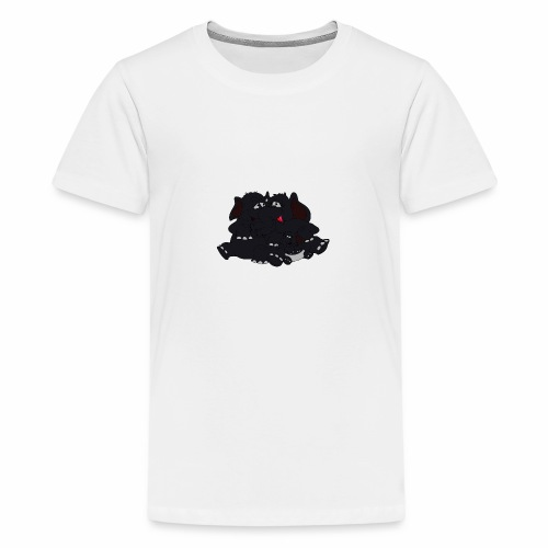 Black Big Family - Teenager Premium T-Shirt