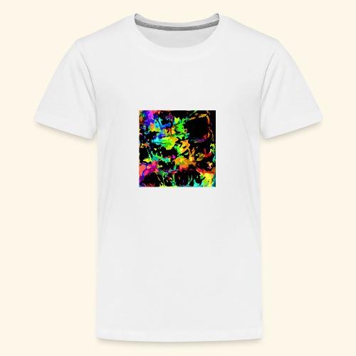 Fiamme colorate - Maglietta Premium per ragazzi
