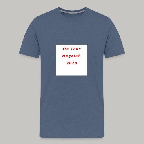 On Tour In Magaluf, 2020 - Printed T Shirt - Teenage Premium T-Shirt